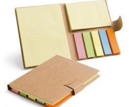 set notas adhesivas carton